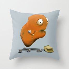 Harold Billington III Throw Pillow