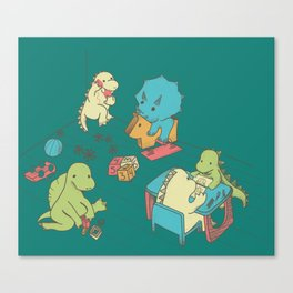 Kinder Canvas Print