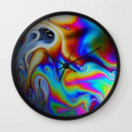 Marbled Granite - Great Colors. Wall Clock