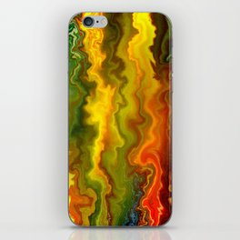 Colorful Thoughts by rafi talby iPhone Skin