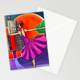 Dreams of the big city remix 2 Stationery Cards