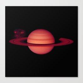Sadie on Saturn Canvas Print