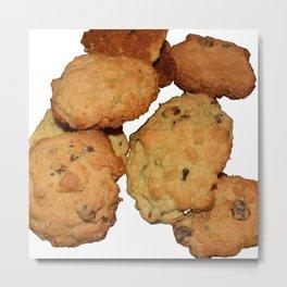 home made cookies Metal Print