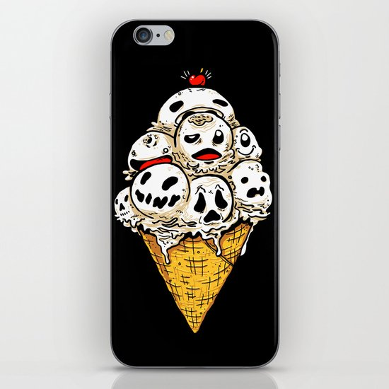 I Scream on Friday the 13th iPhone & iPod Skin