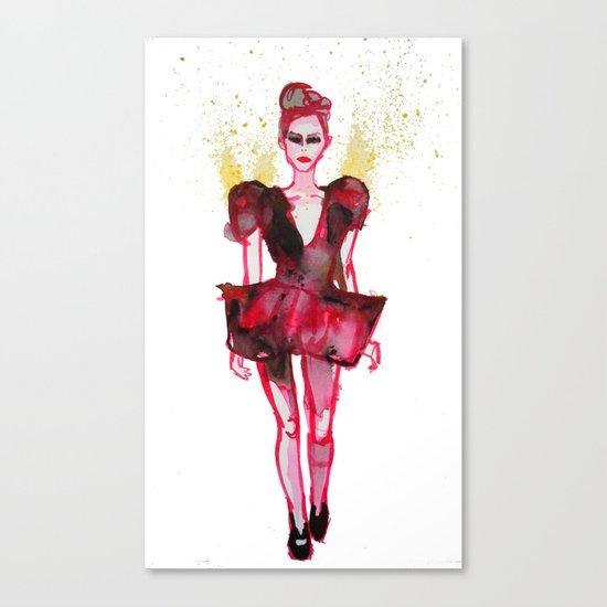 Models Ink 7 Canvas Print