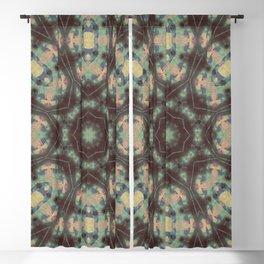 Batik Mandala Pattern Blackout Curtain