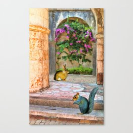 The Simple Life – Painting – by Liane Wright Canvas Print