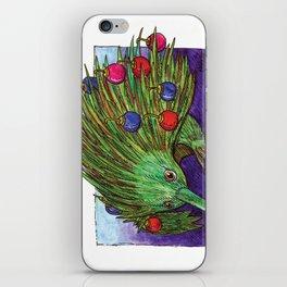 Christmas Tree Echidna iPhone Skin