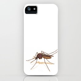 Mosquito by Lars Furtwaengler | Colored Pencil / Pastel Pencil | 2014 iPhone Case