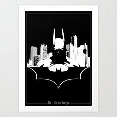 Bat in the City Art Print
