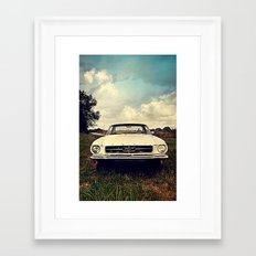 1965 Mustang Framed Art Print