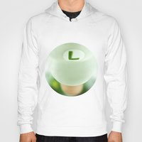 luigi Hoodies featuring Mighty Luigi by josemanuelerre