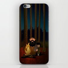 Where The Woods Finds Us iPhone & iPod Skin