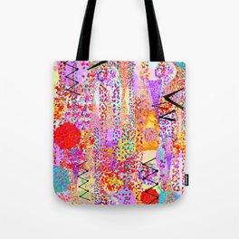 Dance Dots Tote Bag