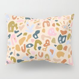 Abstract Paper Cuts Pillow Sham