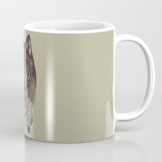 Wind Catcher Wolf Mug