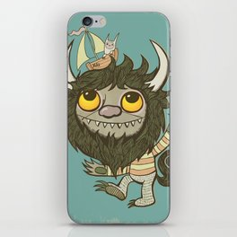 An Ode To Wild Things iPhone Skin