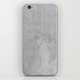 Concrete wall texture iPhone Skin