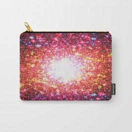 Colorful Confetti Astral Glitter Carry-All Pouch