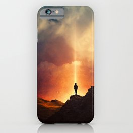 At the edge of the World  iPhone Case
