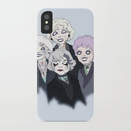 Gothic Girls iPhone Case
