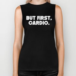 But First Cardio Biker Tank