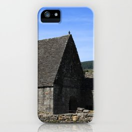 St Kevins Church And Round Tower iPhone Case