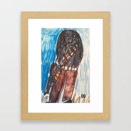 War Rabbit Framed Art Print