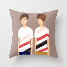 Tegan and Sara: TnS #1 Throw Pillow