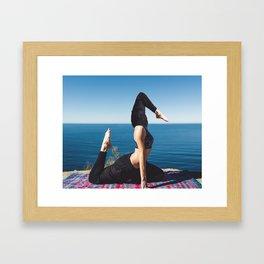 The Third Leg Framed Art Print