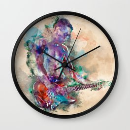 Guitar Boy Wall Clock