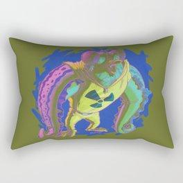 Wut Radyashun? Rectangular Pillow
