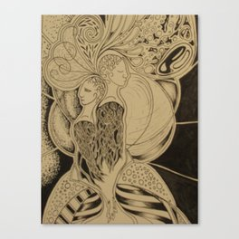 Two Together Canvas Print
