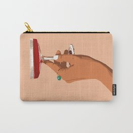 Cheers to Love, Laughter & Happily Ever After #painting #illustration Carry-All Pouch