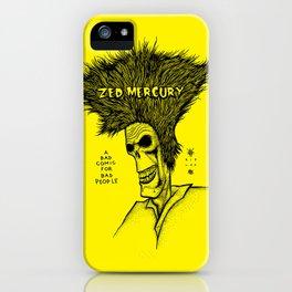 Zed Mercury Cramps tribute iPhone Case