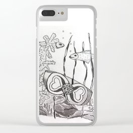 The Symbol of Eternal Love Clear iPhone Case