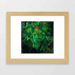 greenman Framed Art Print