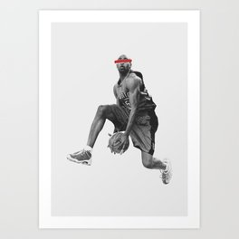even with my eyes closed Art Print