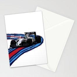 Williams Martini Racing Massa Stationery Cards