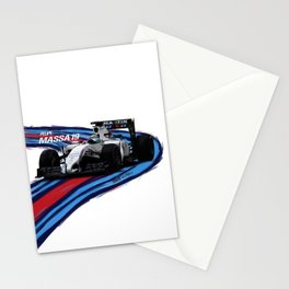 Williams Martini Racing Massa Stationery Cards