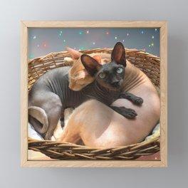 Love forever Framed Mini Art Print