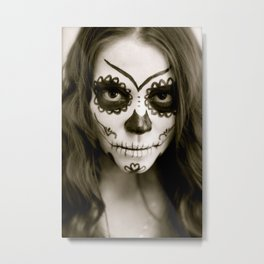 Fell In Love With A Zombie Metal Print