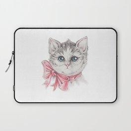 Kitty's portrait Laptop Sleeve