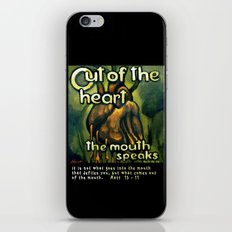 Out Of The Heart iPhone & iPod Skin