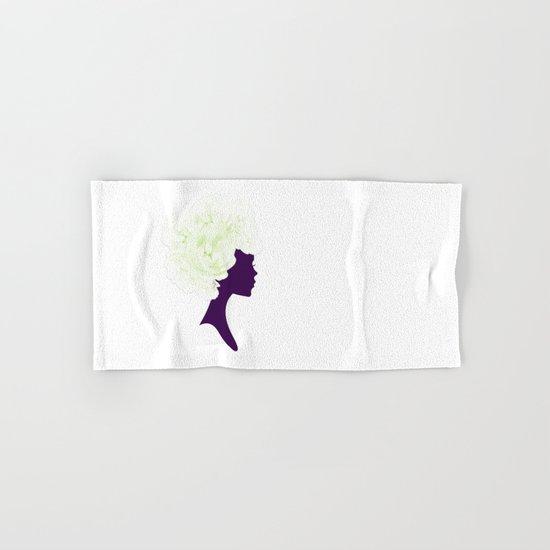Rose Silhouette Hand & Bath Towel