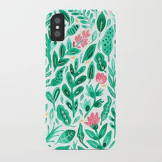 June Blooms Slim Case iPhone X