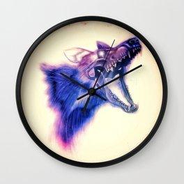 Frankenstein Wolf Wall Clock