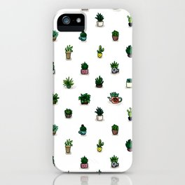 PLANT FAMILY iPhone Case