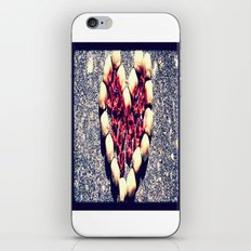 Rock Heart iPhone & iPod Skin