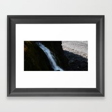 Waterful Framed Art Print